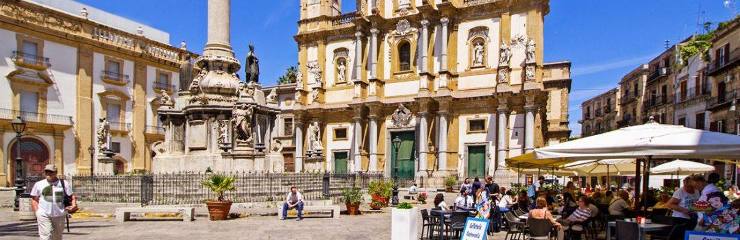 Palermo Piazza San Domenico